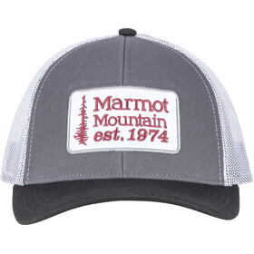 Marmot Retro copricapo, dark steel/black